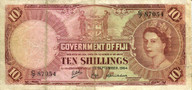 Fiji - 1964 - Ten Shillings Banknote - C/7 87054