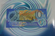 New Zealand - 2000 - $10 Millennium Note Large Presentation Pack - Red Serial Number