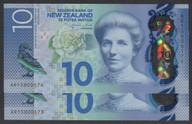 New Zealand - $10 - Consecutive Pair - Wheeler - AR15 000173 - AR15 000174