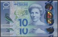 New Zealand - $10 - Consecutive Pair - Wheeler - AR15 000165 - AR15 000166