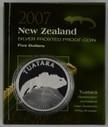 New Zealand - 2007 - Silver $5 Proof Coin - Tuatara