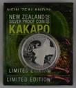 New Zealand - 2009 - Silver $5 Proof Coin - Kakapo