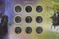 New Zealand - 2003 - Uncirculated Nine Coin Set - The Lord of the Rings