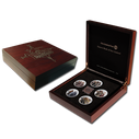 New Zealand - 2013 - Silver Proof 5 Coin Set - The Hobbit: The Desolation of Smaug