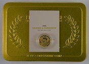 New Zealand - 2016 - $10 Gold Proof Coin - Courage & Commitment