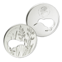 New Zealand - 2015 - Silver Dollar Proof Coin - Kiwi Silhouette