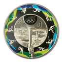 New Zealand - 2016 - Silver Dollar Proof Coin - Road to Rio