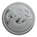 New Zealand - 2017 - Silver Dollar Proof Coin - Taniwha