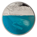 New Zealand - 2018 - Silver Dollar Proof Coin - Sperm Whale