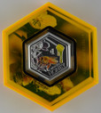 New Zealand - 2018 - Silver Dollar Proof Coin - Manuka Honey
