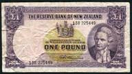 New Zealand - 1 Pound - 138 Prefix - Fleming - 138 225449