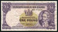 New Zealand - 1 Pound - 065 Prefix - Fleming - 065 370634