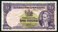 New Zealand - 1 Pound - 282 Prefix - Fleming - 282 333907