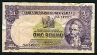 New Zealand - 1 Pound - 266 Prefix - Fleming - 266 149920