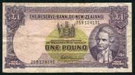New Zealand - 1 Pound - 259 Prefix - Fleming - 259 124191