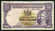 New Zealand - 1 Pound - 216 Prefix - Fleming - 216 436482