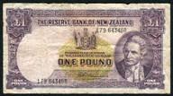 New Zealand - 1 Pound - 179 Prefix - Fleming - 179 643468
