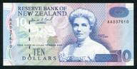 New Zealand - $10 Note - Brash 'Type 3' - AA037610 - First Prefix