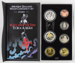New Zealand - 2018 - Annual Proof Coin Set - Maui And The Fish
