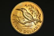 New Zealand - 1993 - $2 - Kingfisher - KM87 - Uncirculated