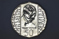"Australia - 1995 - 50c - Edward ""Weary"" Dunlop - KM294 - Uncirculated"