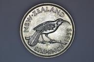New Zealand - 1939 - Sixpence - KM8 - Uncirculated