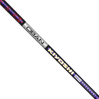 Oban Kiyoshi Purple Tour Reserve 45 Senior Flex Graphite Shaft + Adapter & Grip