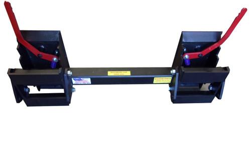 Universal Skid Steer Hitch Adapter Older Skidsteer & Loader, 8296