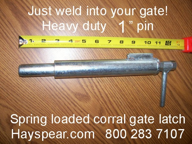 Large Corral Gate Latch with 1