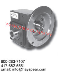 Worm Gear Reducers Flange Input- Hollow Bore Output Box Size 206