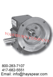 Worm Gear Reducers Flange Input- Shaft Output Box Size 154