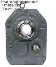 Shaft Mount Size 7 Gear Reducer 25:1 Ratio