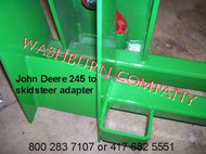 hay spikes, round bale spear for john deere 240 implement round bale spear, bale spikes, jd 245 bale spear, round bale spears  mc