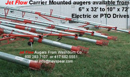 "Transport Auger 6"" x 32' Electric Driven"