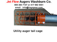 "4"" Utility Auger Tail Cage"