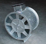 5/7.2 HP, SINGLE PHASE CECO AXIAL DRYING FAN 24""