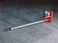 "8"" Bulk Tank Auger Screw Conveyor, 22' Long"