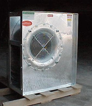 30 HP, 3 PHASE CECO GRAIN DRYING CENTRIFUGAL DAN 33""