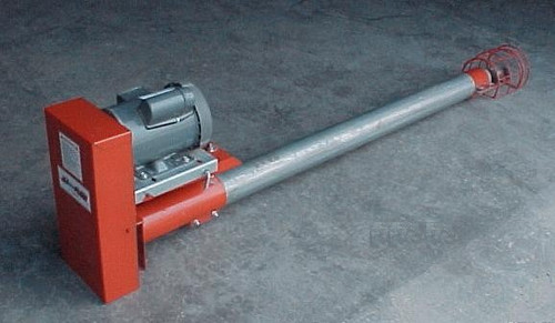 "6"" Portable Utility Auger 17' long with tail cage Jet Flow"