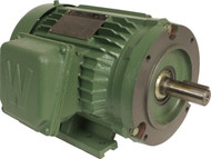 Worldwide Electric Prem EFF 1.5 hp-3600 rpm-143tc 3 ph