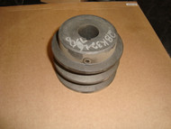 Cast Iron Motor Pulley Sheave-Fixed Bore 2 Groove
