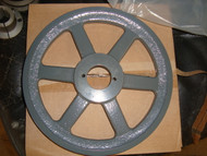 2 Groove Cast Iron pulley for A or B Belt