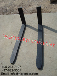 "48"" Pallet Forks 4 x 1 1/2"" Thick, 4500# Class II"
