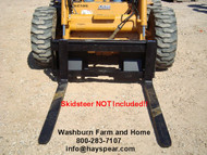 Class 2 Pallet Forks fit on skid steer plate 4000lb rating