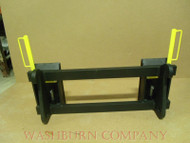 Hitch Adapter JD 244J Loader To Skid Steer Attachments