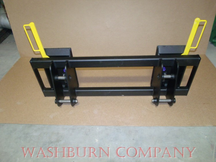 Quick Hitch Adapter Case 1835B Uniloader to Skid Steer