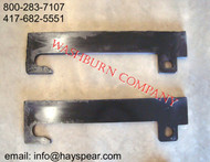 JCB Q Fit Bracket Pair