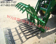 John Deere 400-500 series Grapple 11 Spear Brush Rake