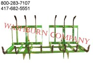 7' Twin Grapple Fits John Deere 600 & 700 grapple skidder, brush mover, trash removal, grapple bucket, grapple excavator