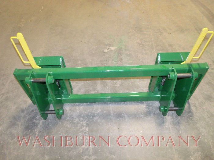 JD 148 & 158 Loader to Skid-Steer Attachment Adapter